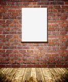 Pagine sul muro di mattoni fotografia stock