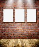Pagine sul muro di mattoni immagini stock libere da diritti