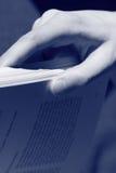 paging книги Стоковая Фотография RF