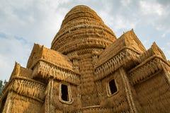 Paglia del castello Fotografie Stock