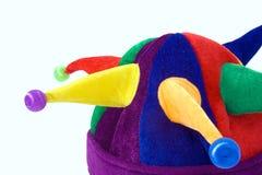 Pagliaccio colorato del cappello Fotografia Stock Libera da Diritti