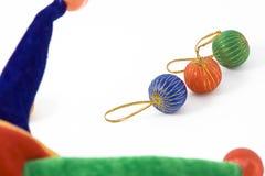 Pagliaccio colorato del cappello Immagine Stock Libera da Diritti