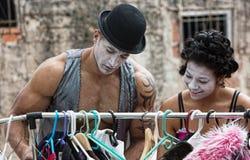 Pagliaccio di Cirque Immagine Stock Libera da Diritti