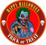 Pagliaccio di Halloween illustrazione vettoriale