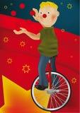Pagliaccio ed il juggler royalty illustrazione gratis