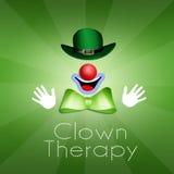 Pagliaccio Therapy Fotografie Stock Libere da Diritti