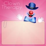 Pagliaccio Therapy Fotografia Stock