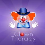 Pagliaccio Therapy Immagini Stock