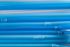 Paglie blu Fotografia Stock Libera da Diritti