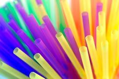 Paglie colorate Fotografia Stock Libera da Diritti