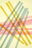 Paglie colorate pastelli Immagine Stock Libera da Diritti