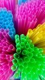 Paglie flessibili di multi colore Immagine Stock Libera da Diritti