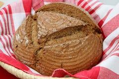 Pagnotta del pane del grano saraceno Immagini Stock