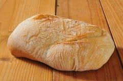 Pagnotta del pane di ciabatta Fotografia Stock Libera da Diritti