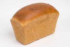 Pagnotta del pane di segale su bianco Fotografia Stock Libera da Diritti