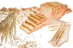 Pagnotta del panino dell'igname e del pane Fotografie Stock Libere da Diritti