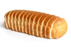 Pagnotta di pane affettata fotografia stock