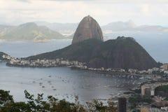 Pagnotta di zucchero del Rio de Janeiro Immagini Stock