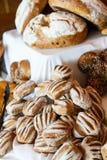 Pagnotte del pane dell'artigiano Fotografia Stock