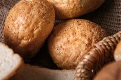 Pagnotte di pane delizioso Immagini Stock