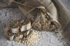 Pagnotte di pane integrale Immagini Stock