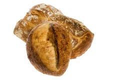Pagnotte di pane isolate Immagini Stock Libere da Diritti