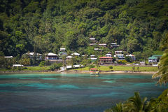 Pago Pago American Samoa photos. This is a shot of the very tropical Pacific Island of American Samoa Stock Image