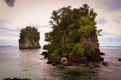 Pago Pago American Samoa photos. This is a shot of the very tropical Pacific Island of American Samoa Royalty Free Stock Images
