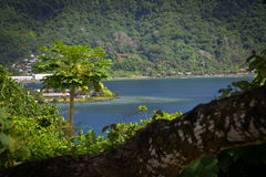 Pago Pago American Samoa photos. This is a shot of the very tropical Pacific Island of American Samoa royalty free stock photos