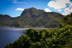 Pago Pago American Samoa photos. This is a shot of the very tropical Pacific Island of American Samoa Stock Photo