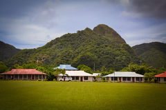 Pago Pago American Samoa photos. This is a shot of the very tropical Pacific Island of American Samoa Stock Photography