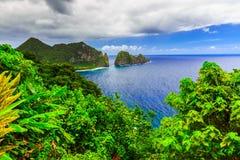 Pago Pago, Samoa Americana imagem de stock royalty free