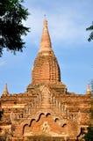 Pagod i Bagan, Myanmar Arkivbilder