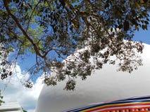 Pagod i den Somawathiya templet Sri Lanka royaltyfri foto