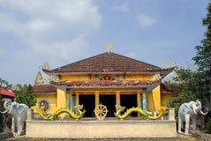 Pagod i kloster av labyrinten av draken i Vietnam Royaltyfri Fotografi