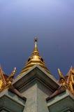 Pagod i tempel Royaltyfri Foto
