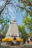 Pagod i Wat Analayo Thipphayaram Arkivfoton