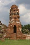 Pagod i Wat Mahathat Royaltyfri Bild
