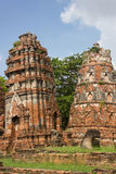 Pagod i Wat Mahathat Royaltyfria Foton