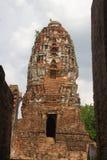 Pagod i Wat Mahathat Arkivbild