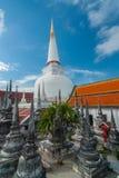 Pagod i Wat Mahathat, Nakhon Si Thammarat landskap Thailand Arkivfoto