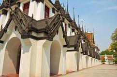 Pagod i Wat Ratchanadda Royaltyfri Bild