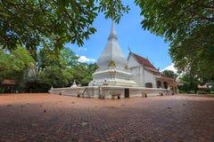 Pagod på Phra som sisångRak tempel, Loei, Thailand Arkivfoton