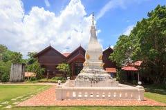 Pagod på Phra som sisångRak tempel, Loei, Thailand Arkivfoto