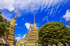 Pagod på Wat Pho Royaltyfri Bild
