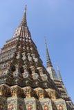 Pagod på Wat Pho Royaltyfri Fotografi