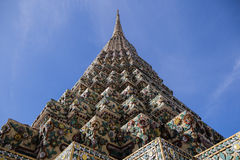 Pagod på Wat Pho Royaltyfria Bilder