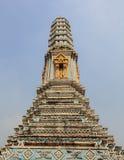 Pagod på Wat Phra Kaew Royaltyfri Fotografi