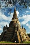 Pagod tempel Royaltyfri Fotografi