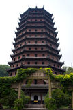 Pagoda à Hangzhou Photos libres de droits